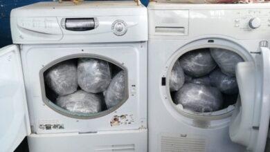 Photo of Çamaşır Kurutma Makinesinde Saklıyorlardı