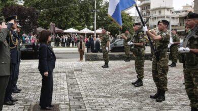 """Photo of Cumhurbaşkanı Sakelaropulu: """"Egemenlik Haklarımızın Korunması Pazarlık Konusu Değil"""""""