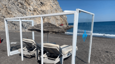 Photo of Santorini Yaz Tatilcilerine Hazırlandı, Ama Nasıl?