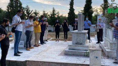 Photo of Mehmet Hilmi İskeçe'de Kabri Başında Törenle Anıldı