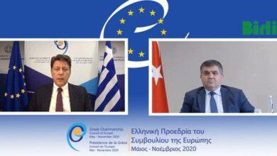 Photo of Varviçiotis, Faruk Kaymakcı İle Görüştü