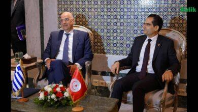 Photo of Dendias, Tunus Cumhurbaşkanı Said ile Libya Meselesini Görüştü