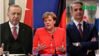 """Photo of """"Merkel, Türkler ve Yunanlılar Arasında Olası Bir Savaşı Durdurdu"""""""