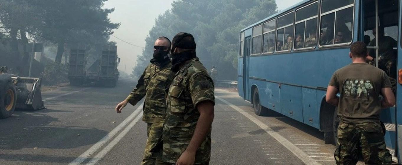 Yangınla Mücadelede Ordu Teyakkuza Geçti